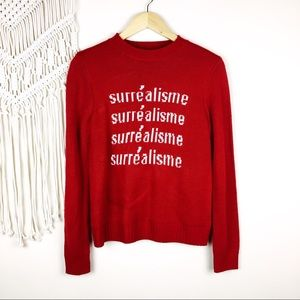 Forever 21 • Surrealism Graphic Sweater